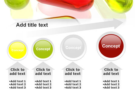 Red Pill Among Green Pills PowerPoint Template Slide 13