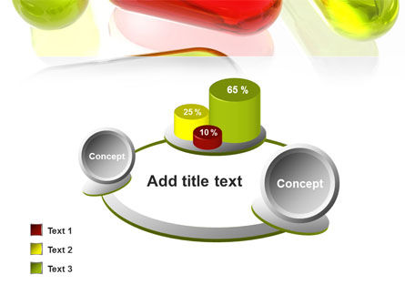Red Pill Among Green Pills PowerPoint Template Slide 16