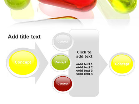 Red Pill Among Green Pills PowerPoint Template Slide 17