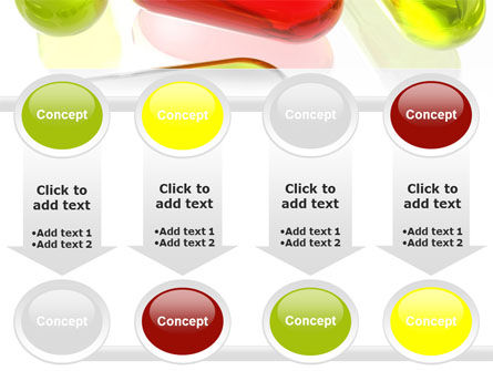 Red Pill Among Green Pills PowerPoint Template Slide 18