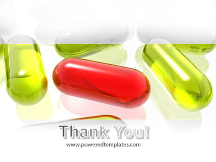 Red Pill Among Green Pills PowerPoint Template Slide 20