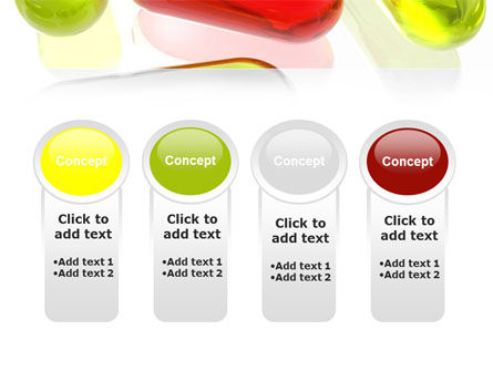 Red Pill Among Green Pills PowerPoint Template Slide 5