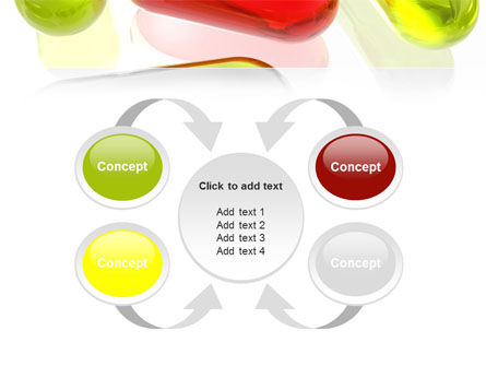 Red Pill Among Green Pills PowerPoint Template Slide 6