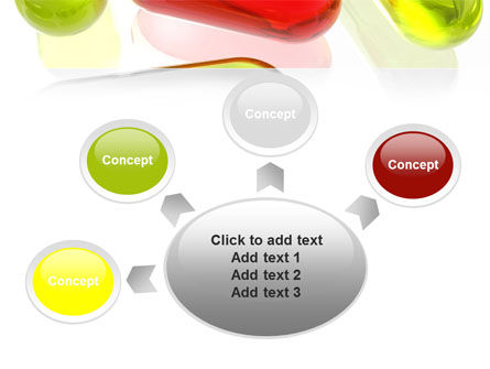 Red Pill Among Green Pills PowerPoint Template Slide 7