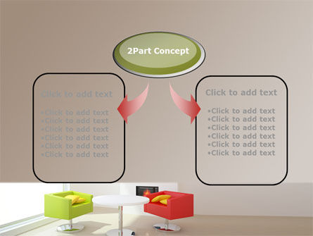 Plan Of Interior PowerPoint Template Slide 4