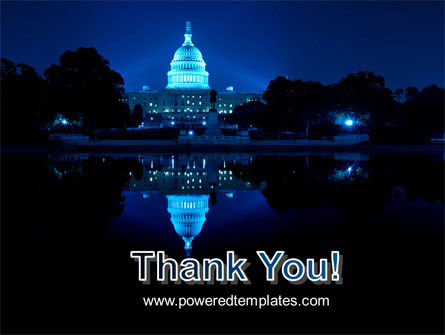 United States Capitol PowerPoint Template Slide 20
