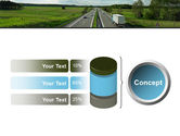Road Freight PowerPoint Template#11