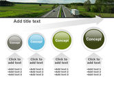 Road Freight PowerPoint Template#13