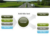 Road Freight PowerPoint Template#14