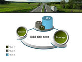 Road Freight PowerPoint Template#16