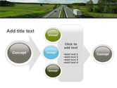 Road Freight PowerPoint Template#17