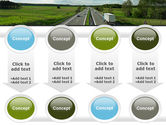 Road Freight PowerPoint Template#18
