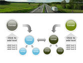 Road Freight PowerPoint Template#19
