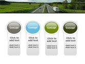 Road Freight PowerPoint Template#5