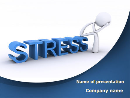 Consulting: Stress Treatment PowerPoint Template #09313