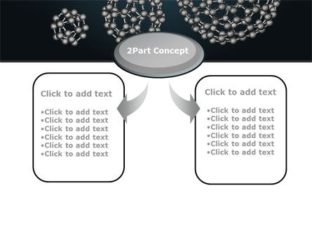 Dodecahedral Crystal Lattice PowerPoint Template Slide 4