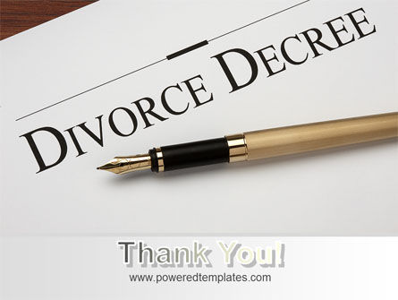 Divorce Decree PowerPoint Template Slide 20