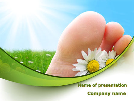 Treatment Of Fungal Diseases PowerPoint Template, 09320, Nature & Environment — PoweredTemplate.com