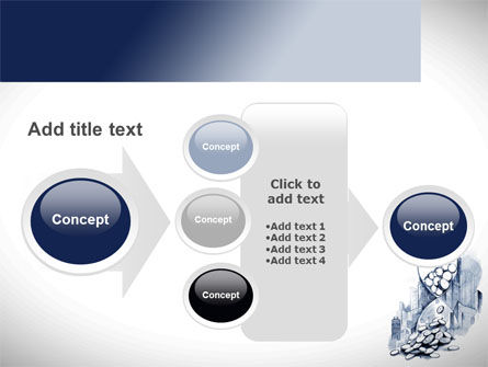 Cash Time PowerPoint Template Slide 17
