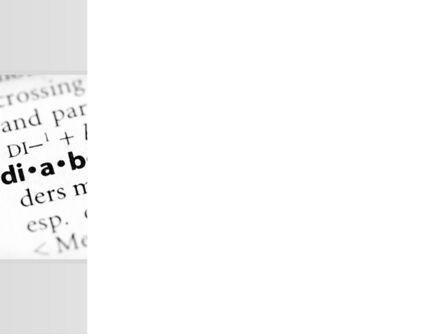 Diabetes PowerPoint Template, Slide 3, 09323, Medical — PoweredTemplate.com