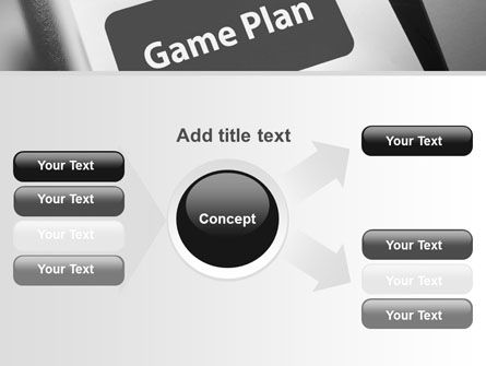 Game Plan PowerPoint Template Slide 14