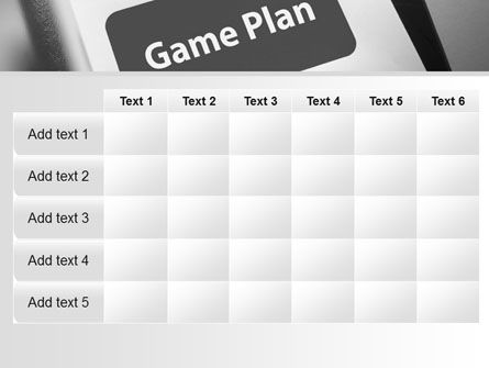 Game Plan PowerPoint Template Slide 15