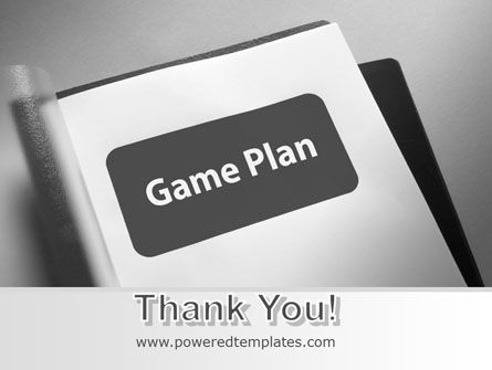 Game Plan PowerPoint Template Slide 20