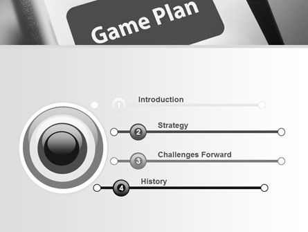 Game Plan PowerPoint Template Slide 3