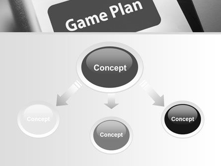 Game Plan PowerPoint Template Backgrounds PoweredTemplatecom - Game plan template