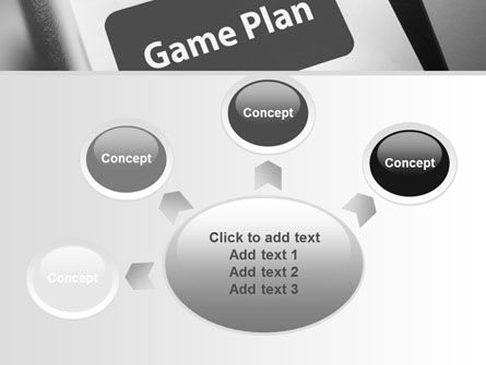 Game Plan PowerPoint Template Slide 7