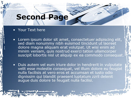 Multimedia Devices PowerPoint Template, Slide 2, 09326, Technology and Science — PoweredTemplate.com