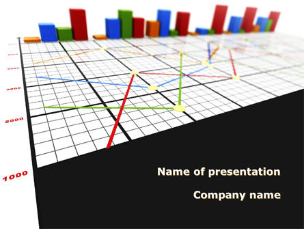 Business: Columns Diagram PowerPoint Template #09327