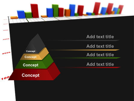 Columns Diagram PowerPoint Template Slide 12