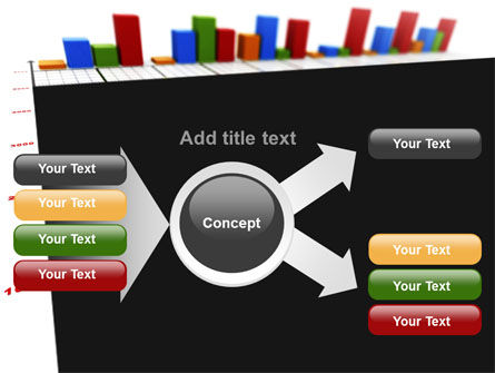 Columns Diagram PowerPoint Template Slide 14