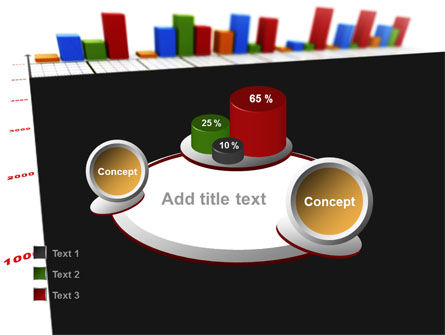 Columns Diagram PowerPoint Template Slide 16
