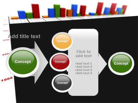 Columns Diagram PowerPoint Template Slide 17