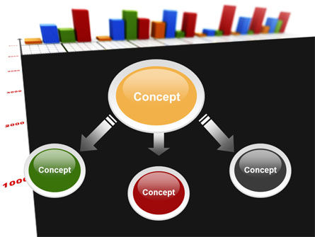 Columns Diagram PowerPoint Template Slide 4
