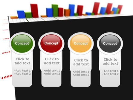 Columns Diagram PowerPoint Template Slide 5