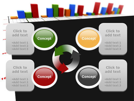 Columns Diagram PowerPoint Template Slide 9