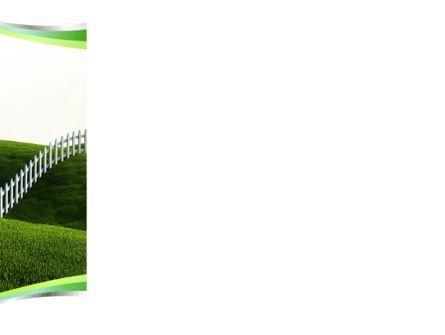Border PowerPoint Template, Slide 3, 09328, Nature & Environment — PoweredTemplate.com