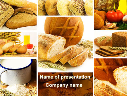 Food & Beverage: Pastries PowerPoint Template #09329