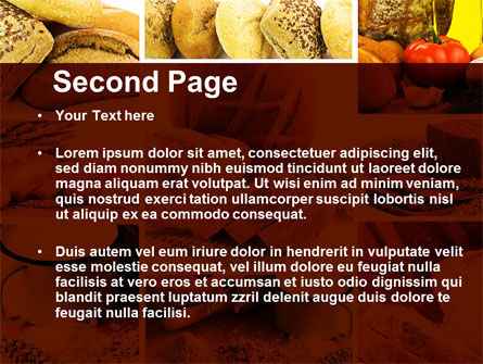 Pastries PowerPoint Template, Slide 2, 09329, Food & Beverage — PoweredTemplate.com