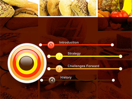 Pastries PowerPoint Template, Slide 3, 09329, Food & Beverage — PoweredTemplate.com