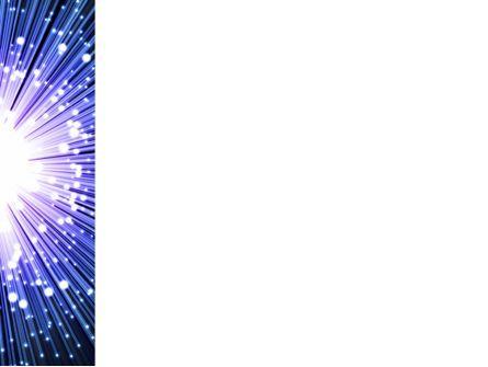 Optical Fiber PowerPoint Template, Slide 3, 09330, Technology and Science — PoweredTemplate.com