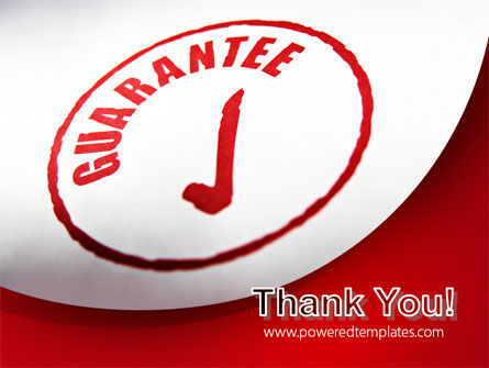 Guarantee Seal PowerPoint Template Slide 20