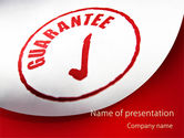 Guarantee Seal PowerPoint Template#1