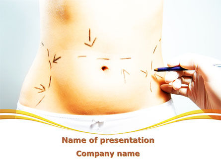 Medical: Liposuction PowerPoint Template #09332
