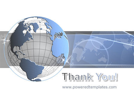 Globe Wired Model PowerPoint Template Slide 20