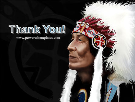 American Indian Chief PowerPoint Template Slide 20