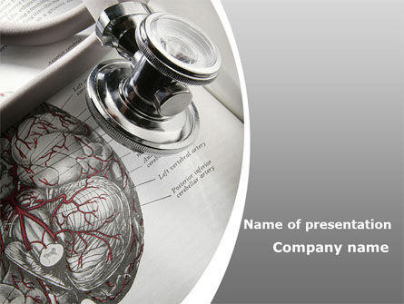 Medical: Human Anatomy PowerPoint Template #09337